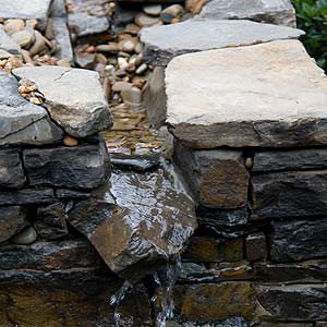 Rill as Water Feature