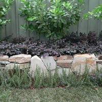 Dry Stone Wall Raised Garden A DIY project