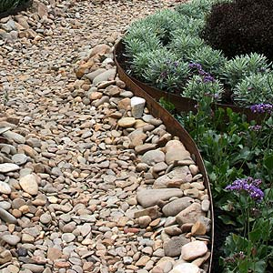 Garden edging melbourne and vic landscape edging for Garden ideas melbourne