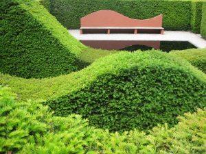 Veddw House Garden Wales