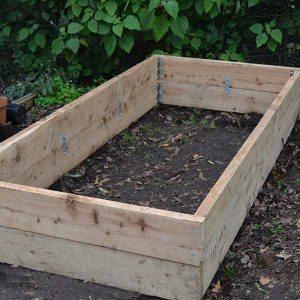 Raised Garden Bed Design