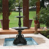 Classic 3 tiered fountain