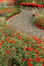 Garden Path with red edges