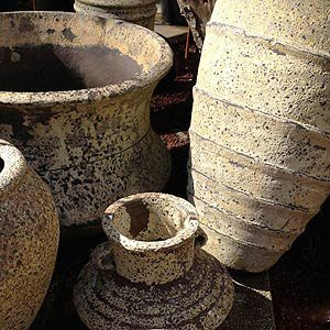 Garden Pots Atlantis design
