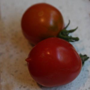 Riesentraube Heirloom Tomatoes.