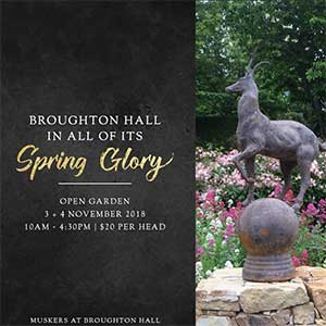 Broughton Hall Open Garden